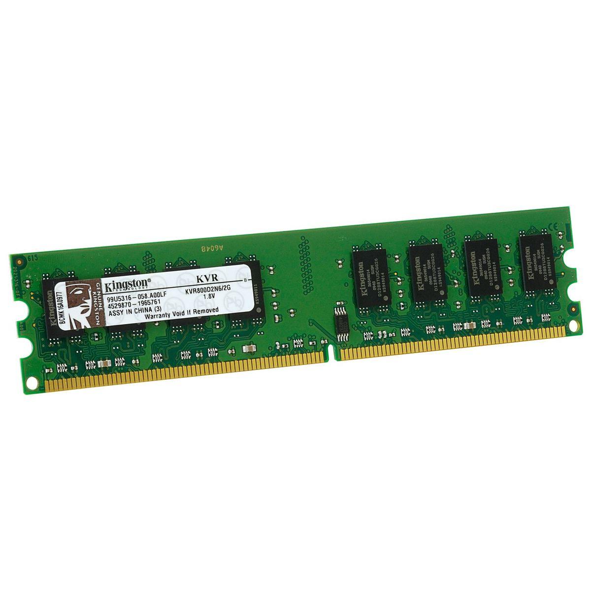 Оперативная память KINGSTON KVR800D2N6/2G 2GB PC6400 DDR2 от Ravta