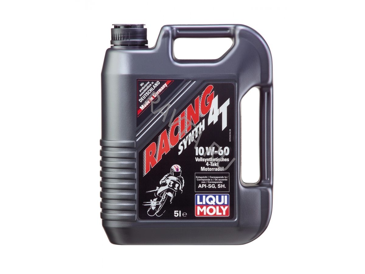 Масло Liqui Moly Racing Synth 4T 10W 60 (5л) от Ravta