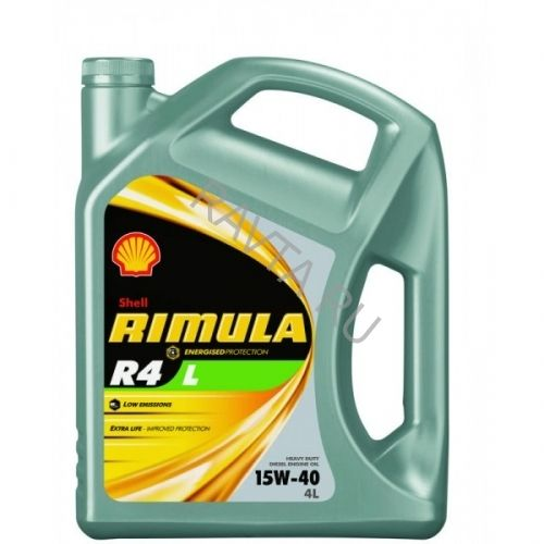 Масло Shell Rimula R4 L 15W-40 (4л) от Ravta