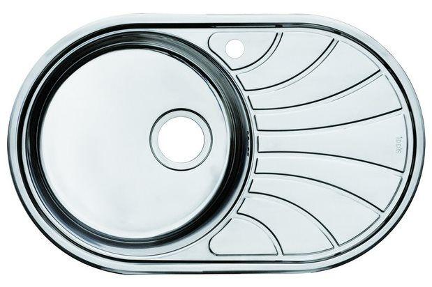 Мойка для кухни Iddis Suno (арт.SUN77PLi77) нержавеющая сталь от Ravta