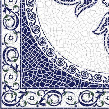 Керамическая плитка напольная Golden Tile София синий 300*300 (шт.) от Ravta