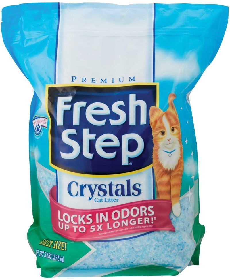 fresh step Силикагелевый наполнитель Fresh Step (crystals) 3,62кг 26097