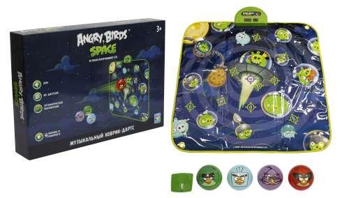 """музыкальный коврик-игра дартс """"Angry Birds"""" спейс (арт. Т56500) от Ravta"""