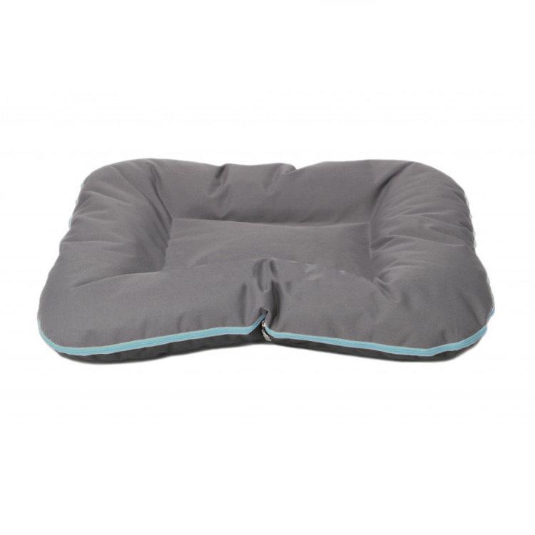 comfy Подушка COMFY ARNOLD XL графит с голубой молнией 90х70 см 222935