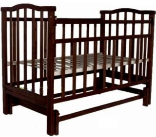 Кроватка АГАТ Золушка-3 маятник поперечный (шоколад) венгеДетские кроватки, манежи и аксессуары<br><br><br>Артикул: 250 590<br>Бренд: АГАТ