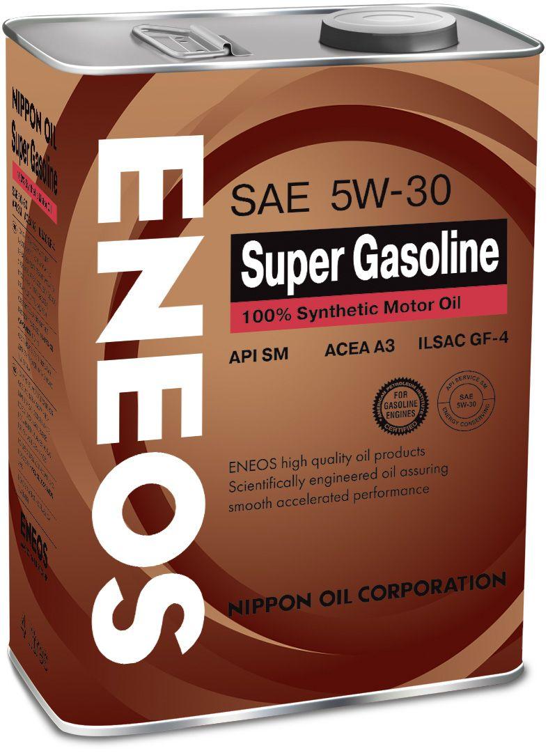 Масло ENEOS Super Gasoline 100% Synt. SM 5/30 (4л) от Ravta