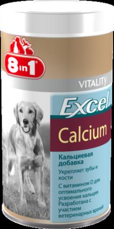 8 in1 Эксель Кальций для собак Excel Calcium, 880 таб., 440мл от Ravta