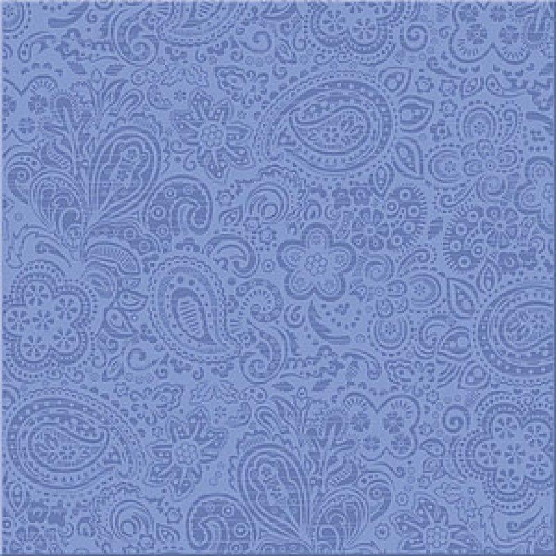 Керамическая плитка напольная Azori Дамаско Блю синий 333*333 (шт.) от Ravta