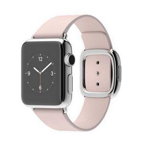 Умные часы Apple Watch 38mm Stainless Steel Case with Soft Pink Modern Buckle - M (MJ372) от Ravta