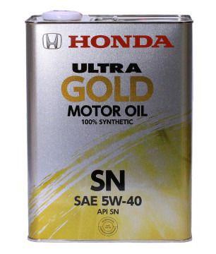 Масло HONDA ULTRA GOLD SN 5/40 (4л) от Ravta