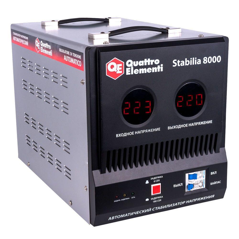 Стабилизатор напряжения QE Stabilia 8000 от Ravta