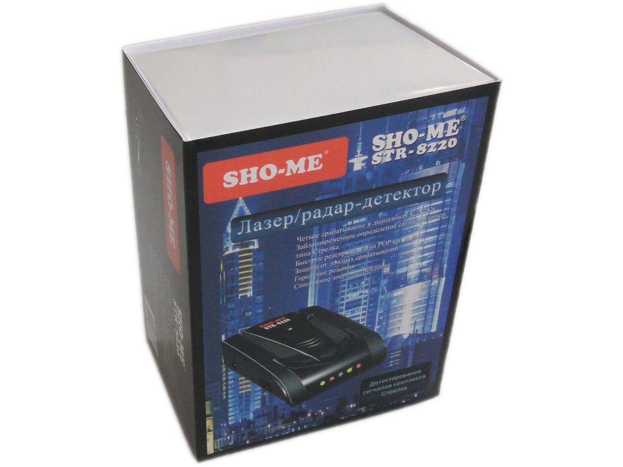 Радар-детектор Sho-Me STR-8220: цена, описание, отзывы