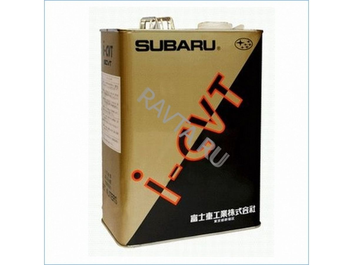 Масло SUBARU I-CVT (4л) от Ravta