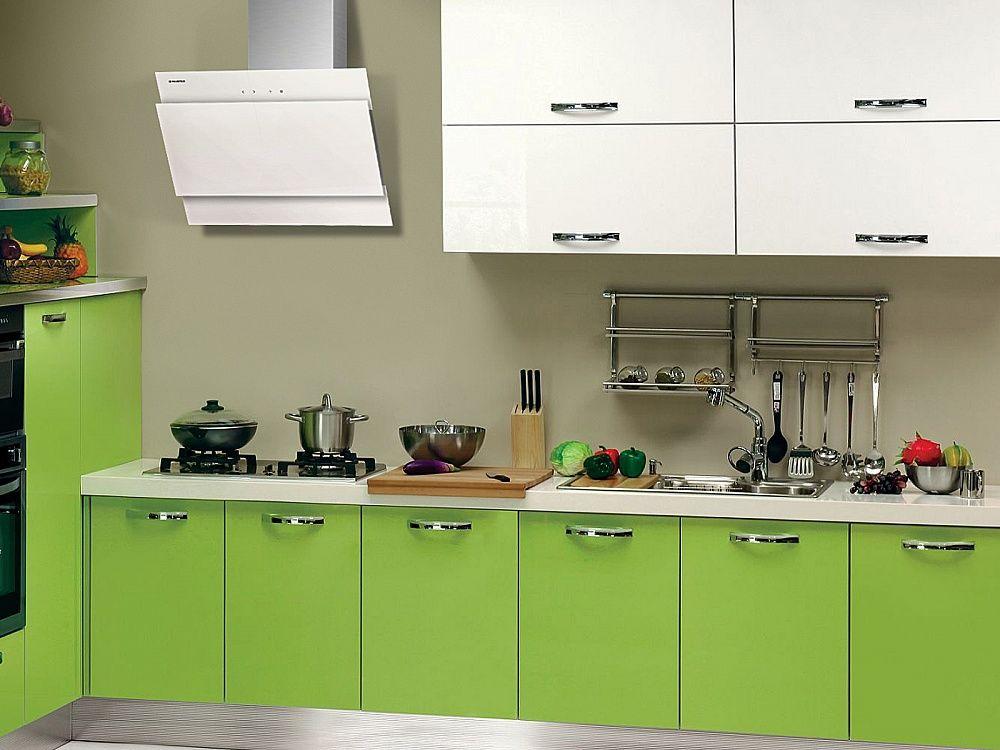 Вытяжки белого цвета для кухни