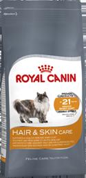Корм Royal Canin Hair &amp; Skin Care для кошек в целях поддержания здоровья кожи и шерсти 2кгПовседневные корма<br><br><br>Артикул: 10743<br>Бренд: Royal Canin<br>Вид: Сухие<br>Высота упаковки (мм): 0,33<br>Длина упаковки (мм): 0,19<br>Ширина упаковки (мм): 0,075<br>Вес брутто (кг): 2<br>Страна-изготовитель: Россия<br>Вес упаковки (кг): 2<br>Размер/порода: Все<br>Для кого: Кошки<br>Особая серия: Здоровье кожи и шерсти