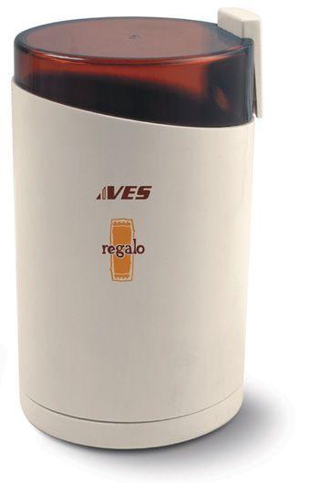 Кофемолка Ves VES730Кофемолки<br><br><br>Бренд: VES<br>Потребляемая мощность (Вт): 150<br>Гарантия производителя: да<br>Система помола: ротационный нож<br>Страна-изготовитель: Китай<br>Цвет: белый<br>Срок гарантии (мес.): 48<br>Вместимость кофемолки (г): 85<br>Регулировка степени помола: нет