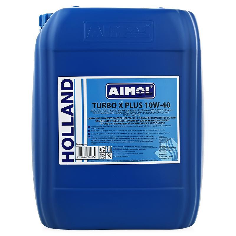 aimol Масло AIMOL TURBO X PLUS 10W-40 RU (20л)