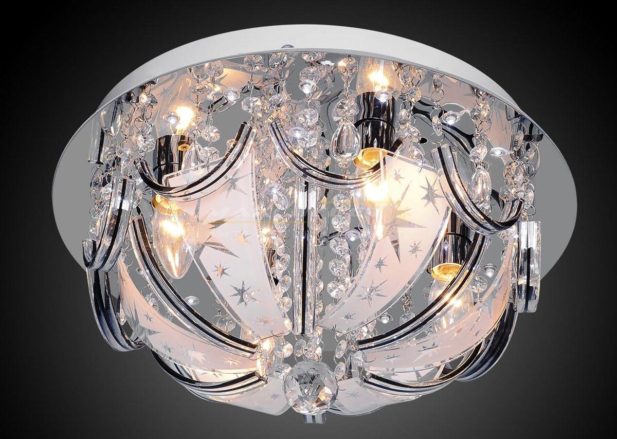 Люстра Буше 1-1999-4-CR-LED M Y E14Люстры<br>Скидка 20%<br><br>Артикул: 1-1999-4-CR-LED M Y E14<br>Бренд: МАКСИСВЕТ<br>Вес (кг): 3,8<br>Коллекция светильников: Буше<br>Длина светильника (мм): 400<br>Ширина светильника (мм): 400<br>Высота светильника (мм): 210<br>Цвет арматуры: CR (блестящий хром)<br>Тип цоколя светильника: E14<br>Количество ламп светильника: 4<br>Общая мощность освещения светильника (Вт): 160<br>Размер основания светильника: 355мм