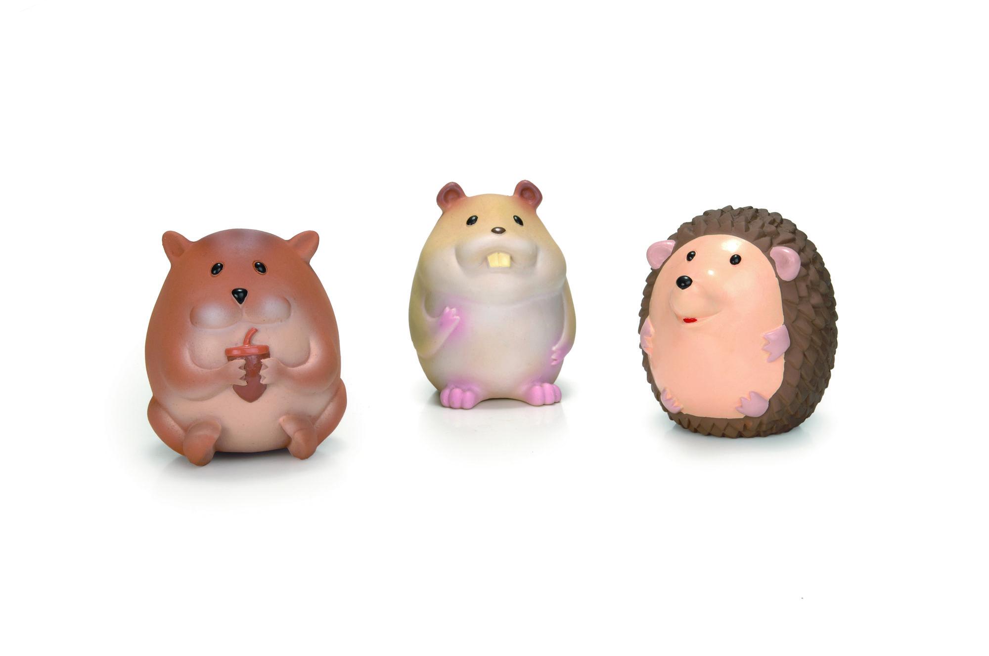 """Игрушки для собак """"Лесные Друзья"""", латекс 10см (шт) от Ravta"""