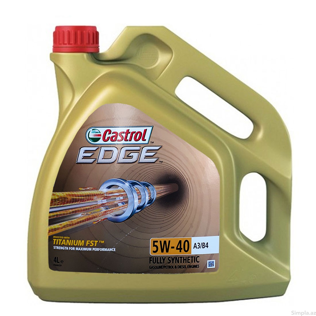 castrol Моторное масло CASTROL EDGE 5W-40 A3/B4 (4л) 15BA5D