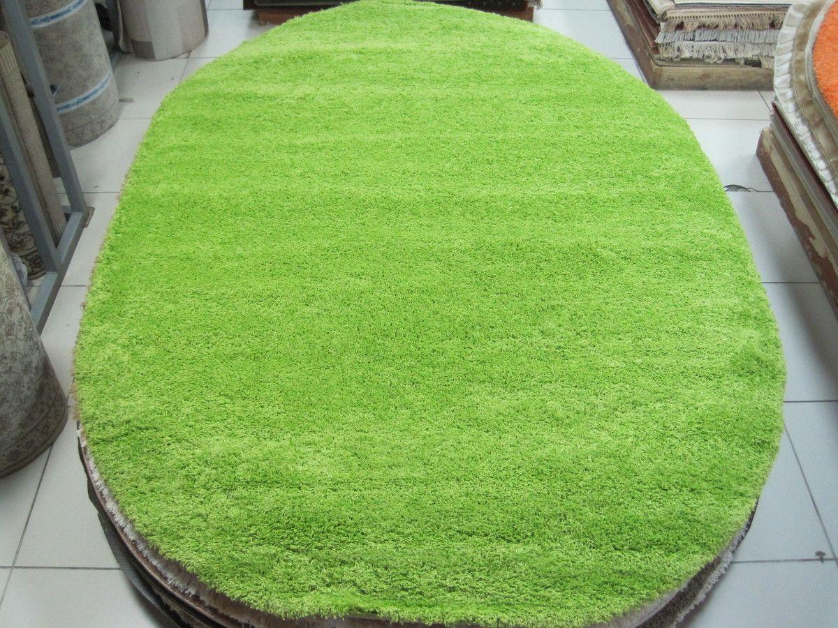 Ковер Шагги Фит зеленый 1500*2300мм овалКовры с длинным ворсом<br><br><br>Бренд: Ravta<br>Страна-изготовитель: Турция<br>Форма ковра: овал<br>Материал ворса коврового покрытия: Полипропилен<br>Высота ворса коврового покрытия (мм): 50<br>Ковёр с длинным ворсом: Да<br>Цвет коврового покрытия: Зеленый