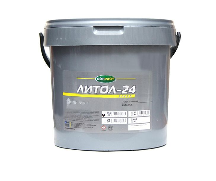 Смазка OilRight Литол-24 (9,5 кг) от Ravta