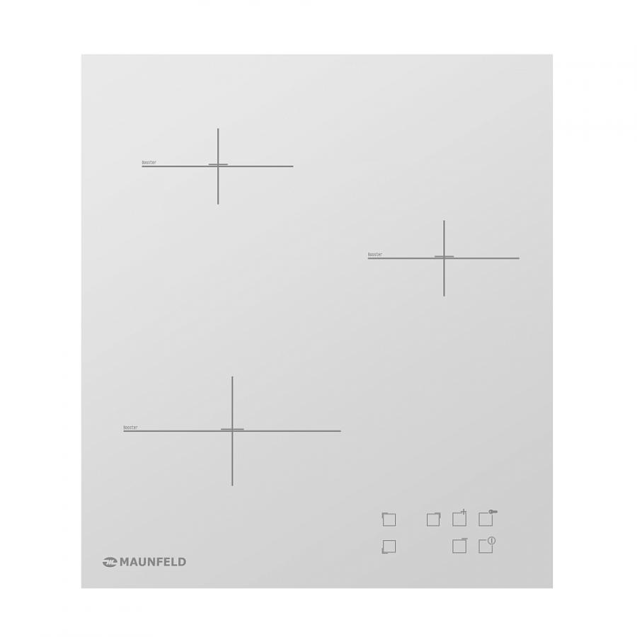 Электрическая варочная панель Maunfeld MPR-PM45I WH (белое стекло) от Ravta