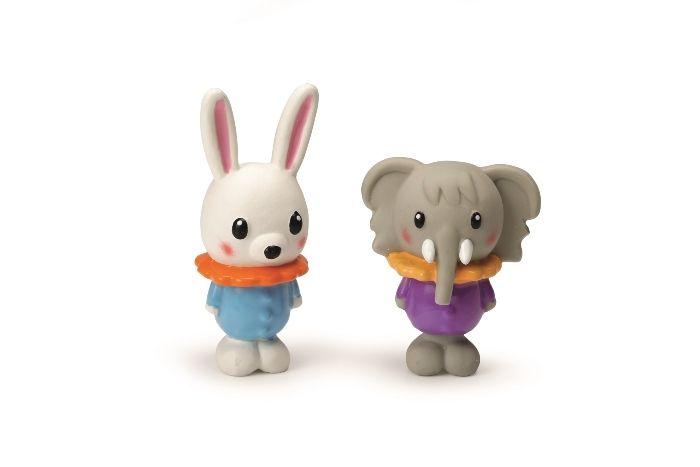 """Игрушки для собак """"Слоники и Кролики"""" латекс 10см (шт) от Ravta"""