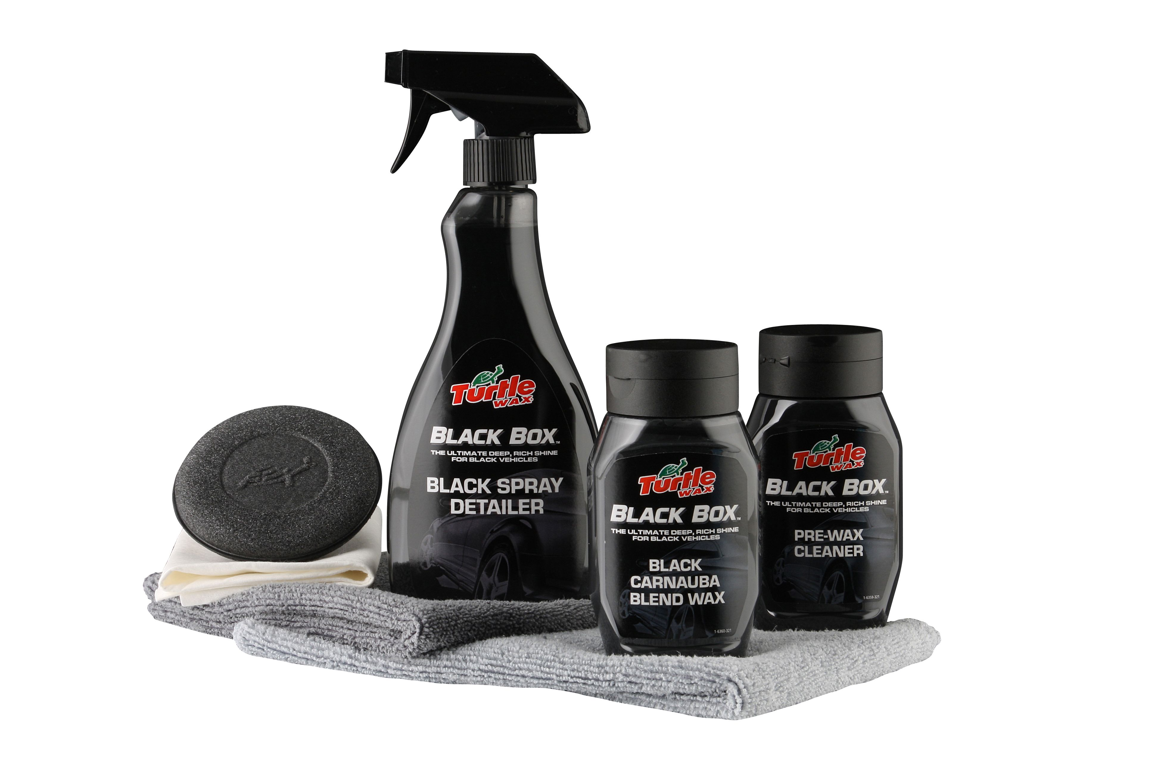 TW  Набор для автомобилей черного цвета Black Box от Ravta