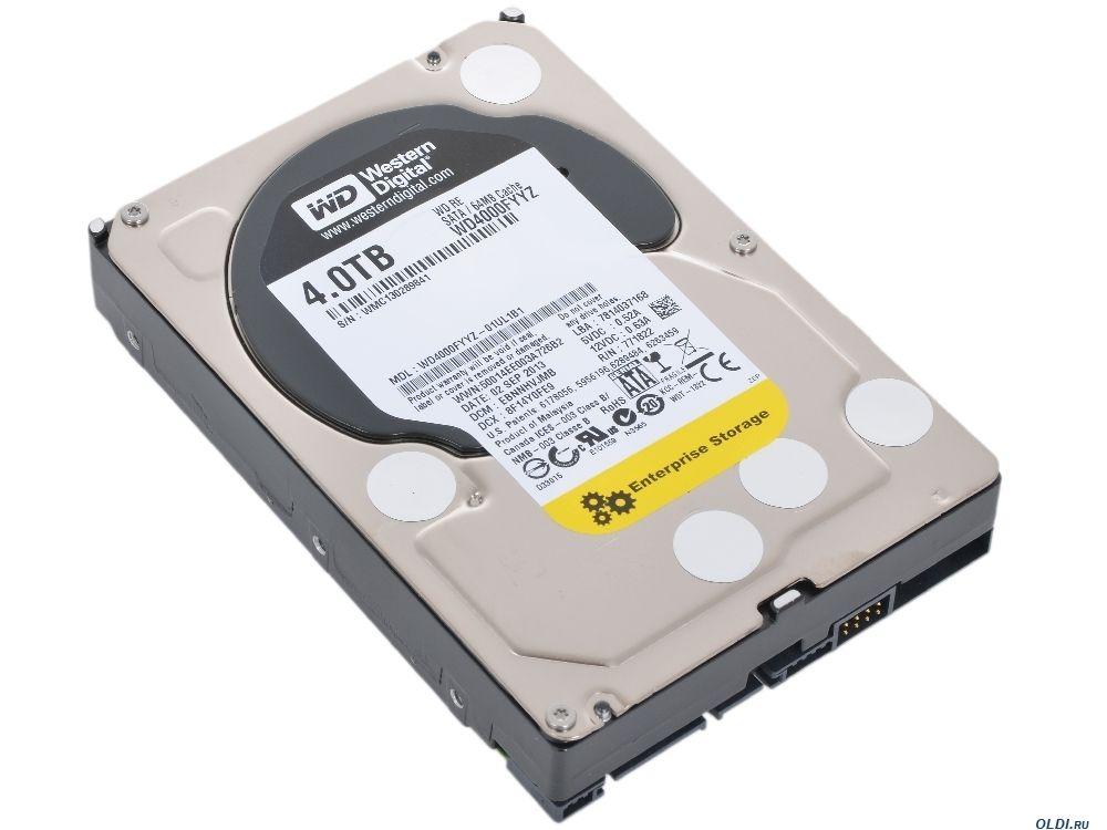 Жесткий диск Western Digital WD4000FYYZ (4Tb) от Ravta