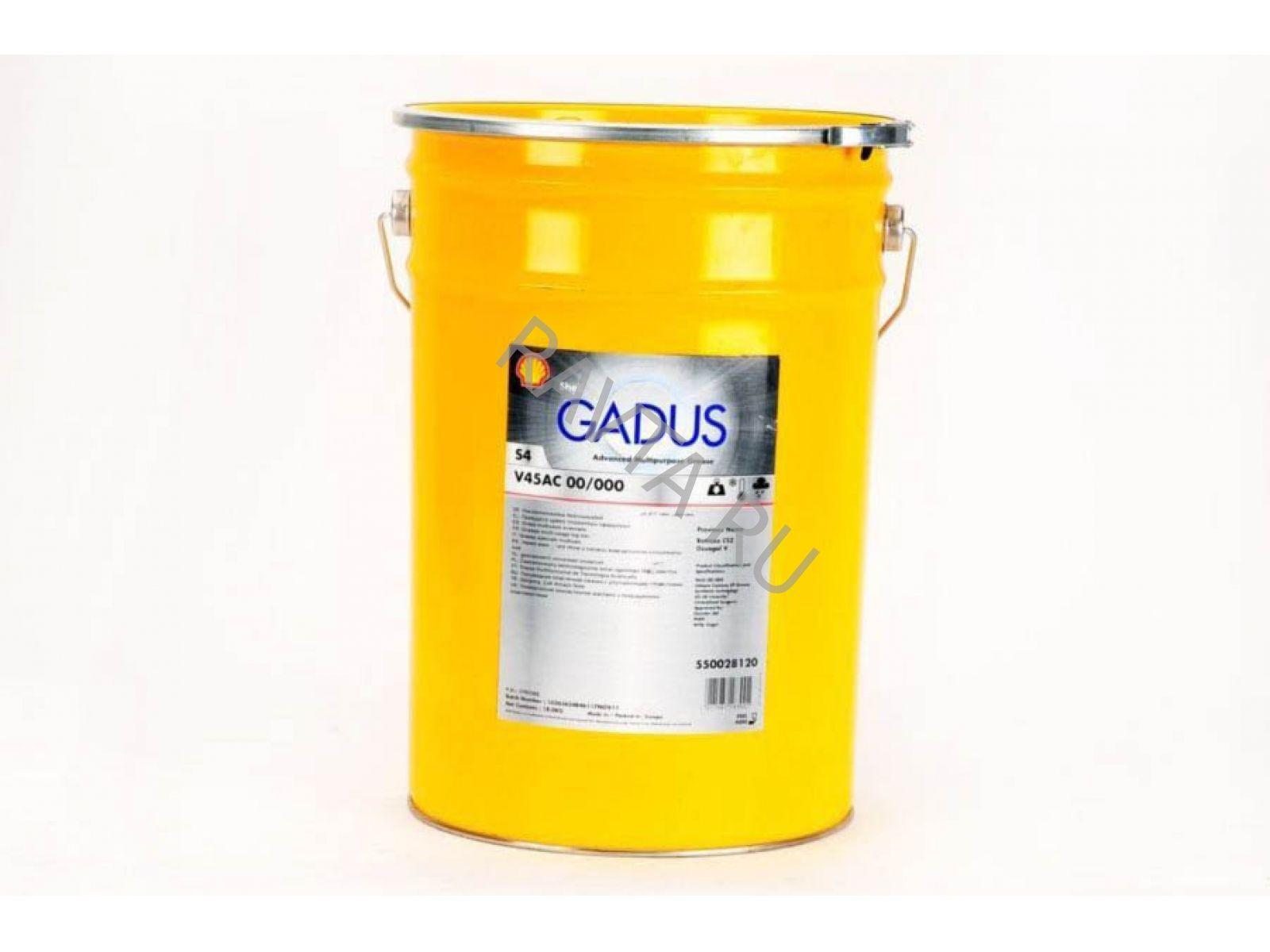 Смазка Shell Gadus S4 V45 AC 00/000 (18кг) от Ravta