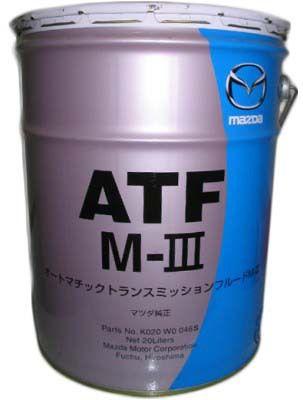 Масло MAZDA ATF M-3 (20л) от Ravta