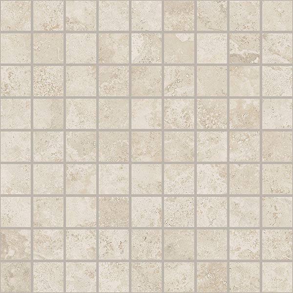 Керамогранит напольный декор Coliseum Gres Сиена Мозаика белый 300*300 (шт) от Ravta