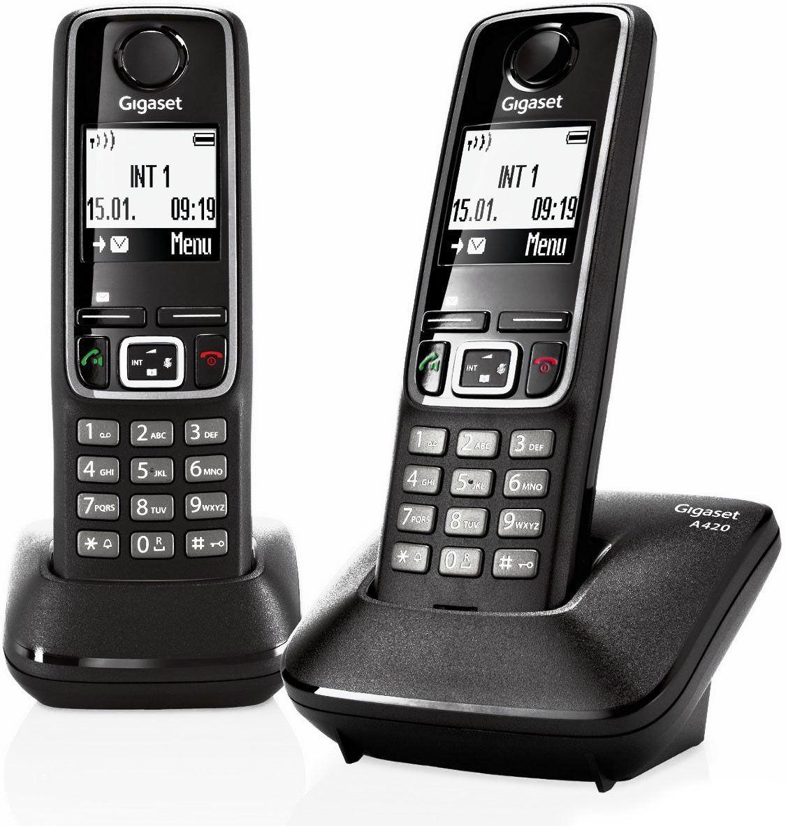 Телефон DECT Gigaset A420 DUO RUS от Ravta