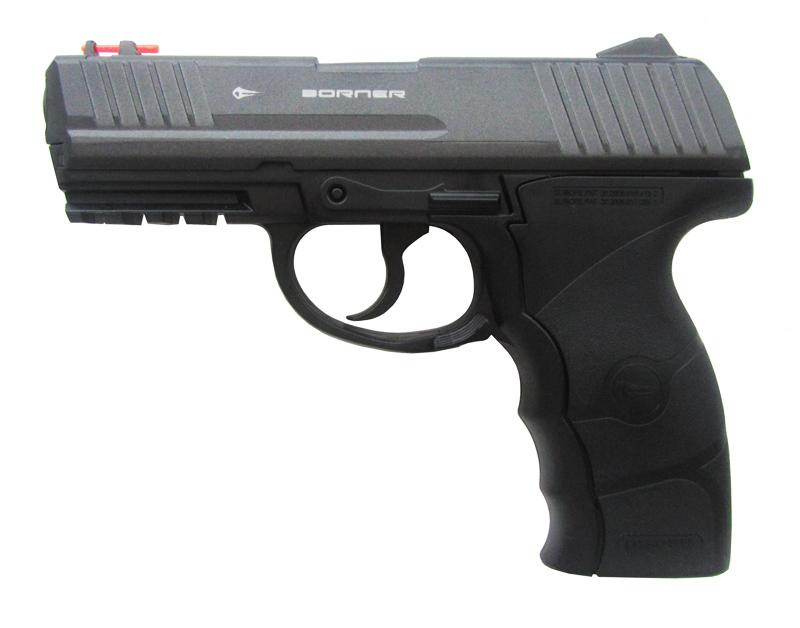 Пистолет пневм. Borner W3000, кал. 4,5 мм от Ravta