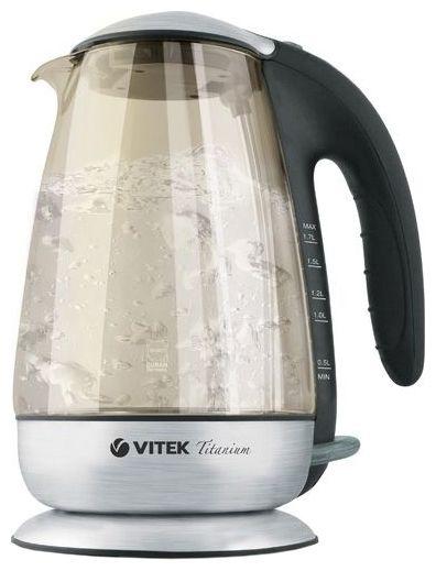 Здесь можно купить Чайник VITEK VT-1111, 1,7л (GY)  Чайник VITEK VT-1111, 1,7л (GY)