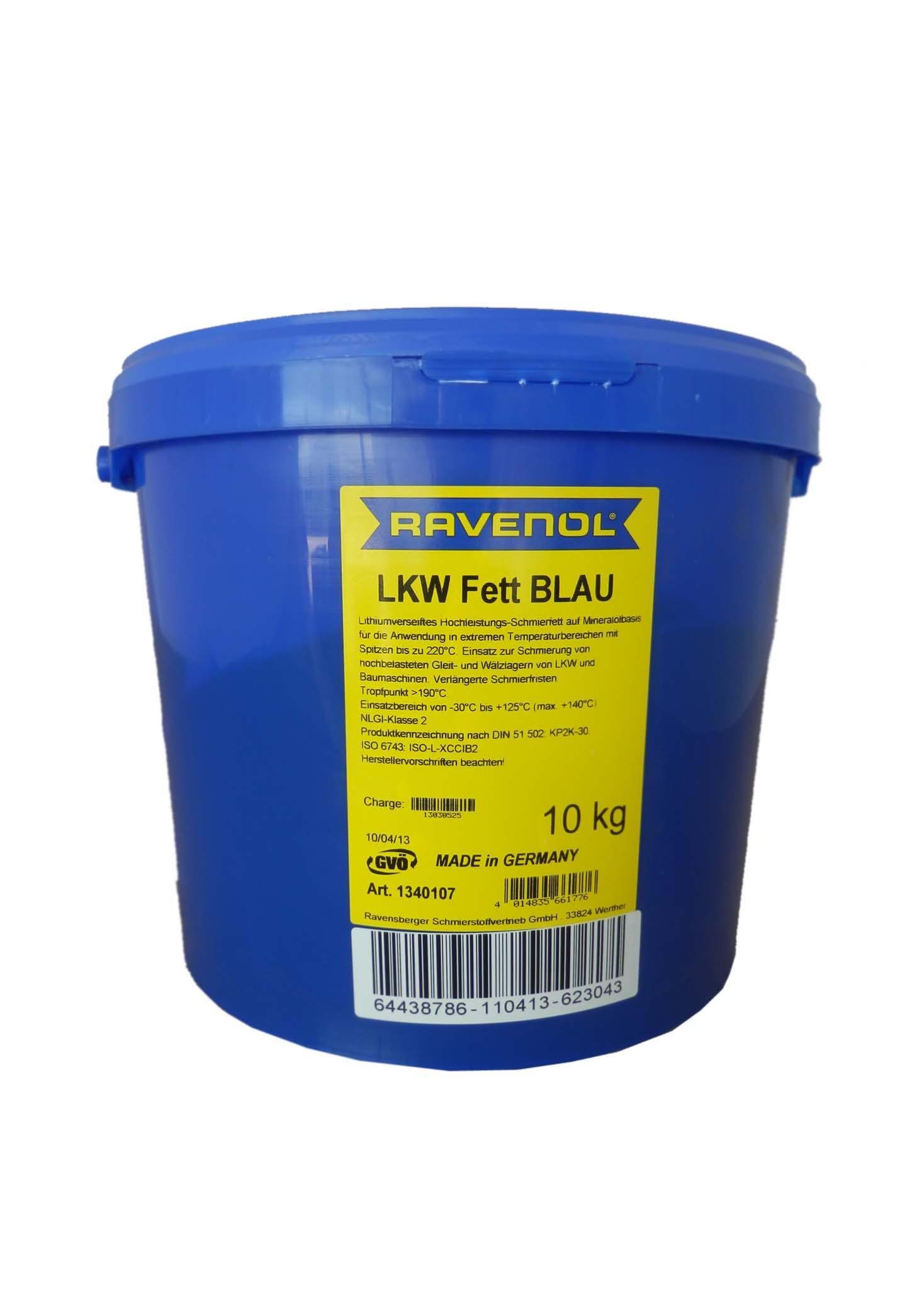 Смазка Ravenol LKW Fett Blau (10кг) от Ravta