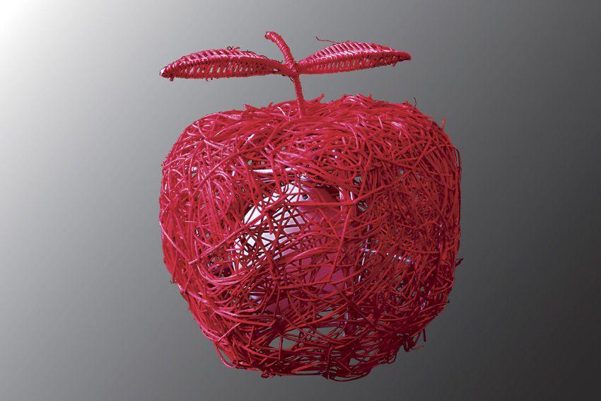 Настольная лампа Экостиль 5-0500-1-RED E27 от Ravta