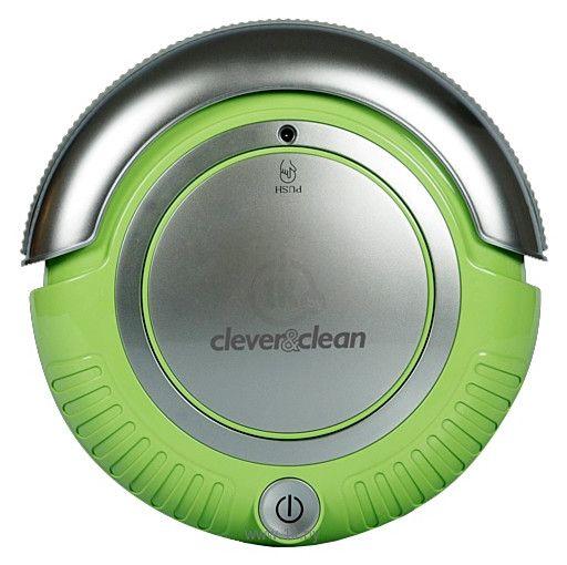 Робот-пылесос Clever&Clean 002 M-Series (зеленый) от Ravta