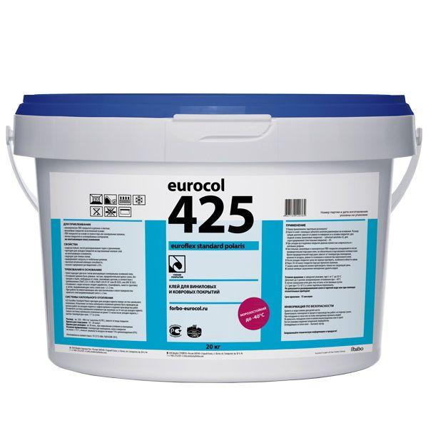 Морозоустойчивый влажный клей Eurocol Forbo 425 Eurotack Standard (20кг) от Ravta