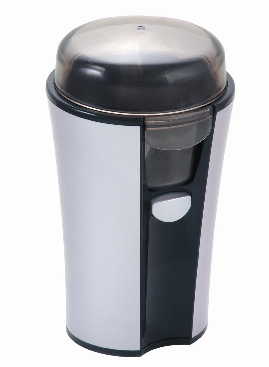 Кофемолка Ves CG3Кофемолки<br><br><br>Бренд: VES<br>Потребляемая мощность (Вт): 180<br>Гарантия производителя: да<br>Блокировка включения при снятой крышке: да<br>Система помола: ротационный нож<br>Страна-изготовитель: Китай<br>Цвет: серый<br>Срок гарантии (мес.): 48<br>Вместимость кофемолки (г): 100<br>Регулировка степени помола: нет