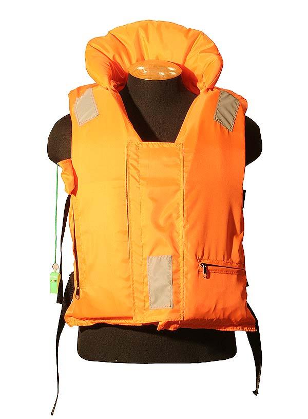 Жилет Спасательный Подводник с подголовником M/L 100кг (Оранж)Спасательные жилеты<br><br><br>Артикул: 00013295<br>Бренд: Ravta<br>Размер одежды: M/L
