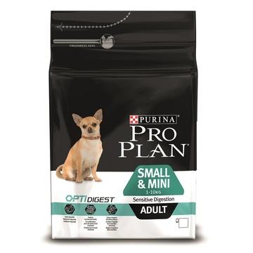 Purina Pro Plan Для взрослых собак малых пород с чувствительным пищеварением с ягненком (Sensitive Digestion) 12278062 3кгПовседневные корма<br><br><br>Артикул: 19677<br>Бренд: Purina Pro Plan<br>Вид: Сухие<br>Вес брутто (кг): 3<br>Для кого: Собаки