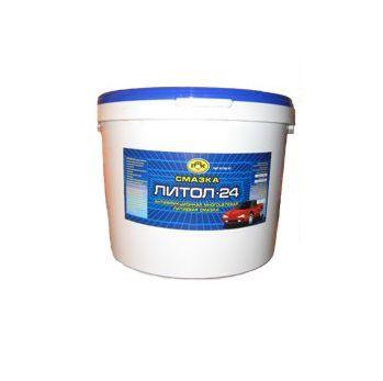 Смазка литол-24 (17,5кг) (ГОСТ), РОЗНХП от Ravta