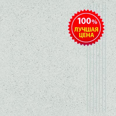 Керамогранит напольный ступени Шахтинская плитка Техногрес светло-серый 300*300 (шт.) от Ravta