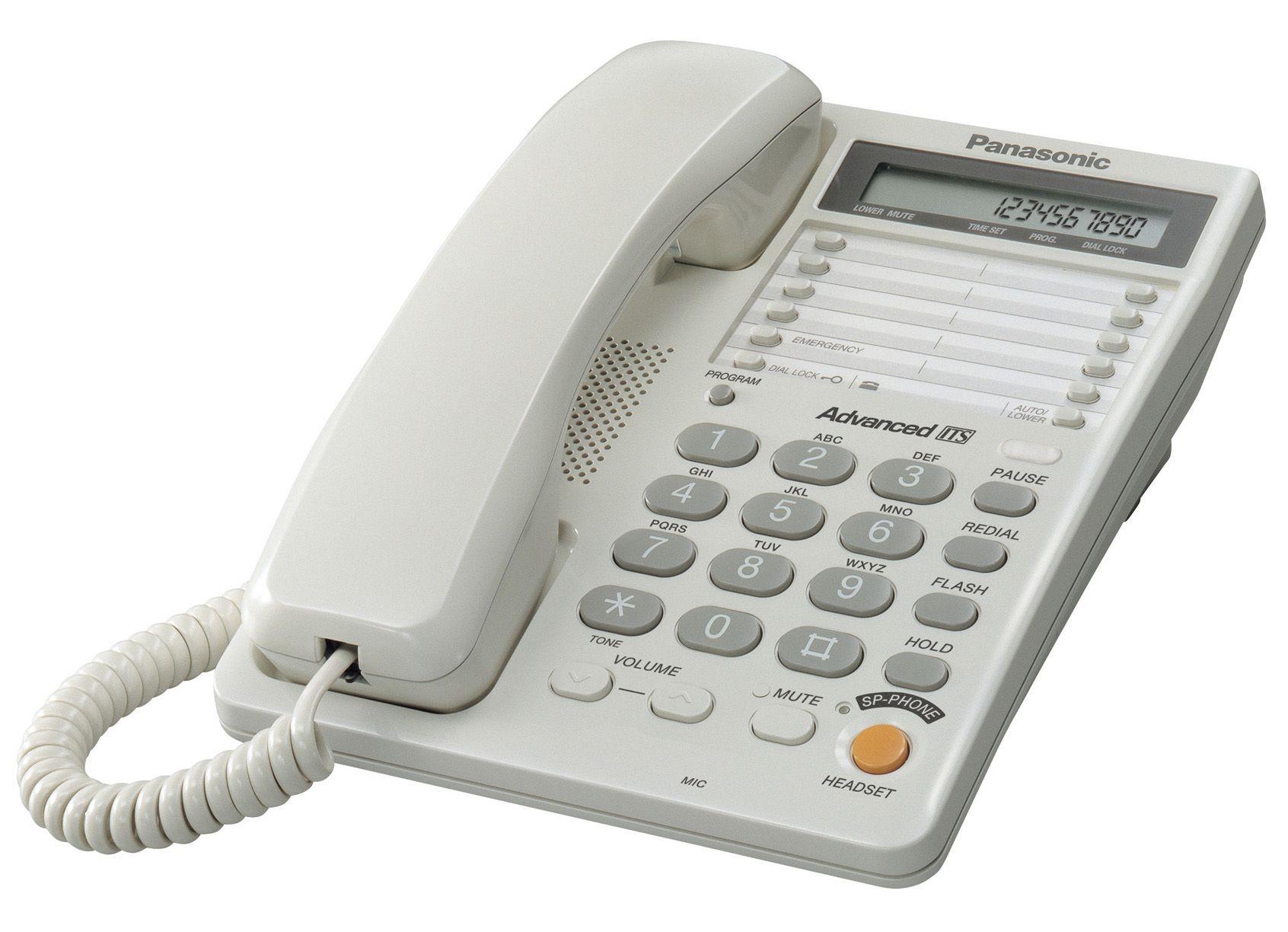 Телефон Panasonic KX-TS2365RUB (черный) от Ravta
