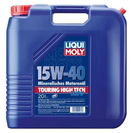 Масло Liqui Moly THT SHPD-Motoroil Basic 15W 40 (20л) от Ravta