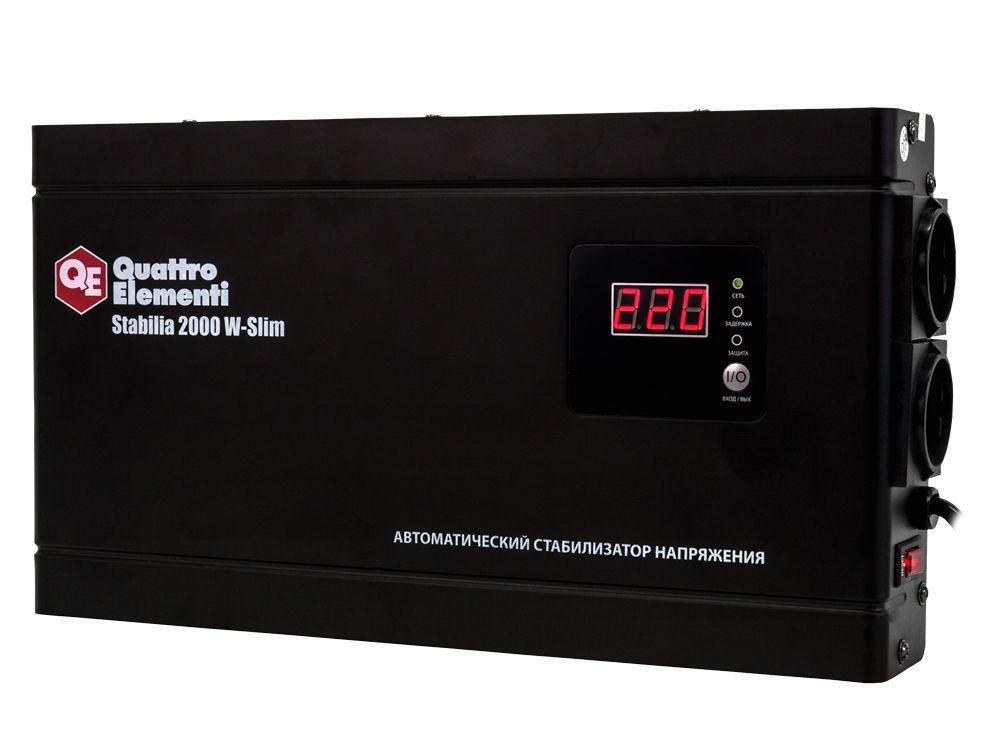 Стабилизатор напряжения QE Stabilia 2000 W-Slim от Ravta