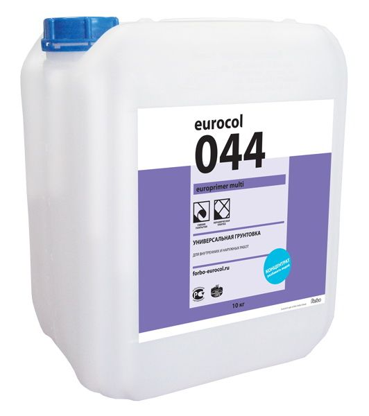 Универсальная грунтовка Eurocol Forbo 044 Europrimer Multi (10кг) от Ravta