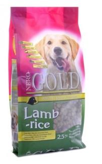 NERO GOLD super premium Для Взрослых собак с ягненком и рисом (Adult Lamb&Rice 23/10) 12кг от Ravta